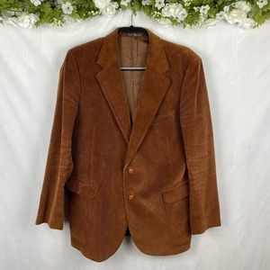 Vintage Corduroy Baskin Mens Sports Coat Medium